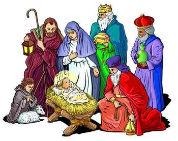 nativity-clipart | Dayton Christian Homeschool