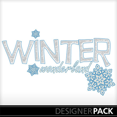 Winter Wonderland Stock Vectors, Clipart and Illustrations