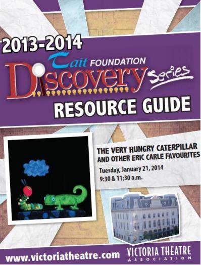 Victoria Theatre Resource Guide 2014