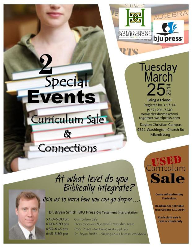 2 Special Events Tuesday March 25th