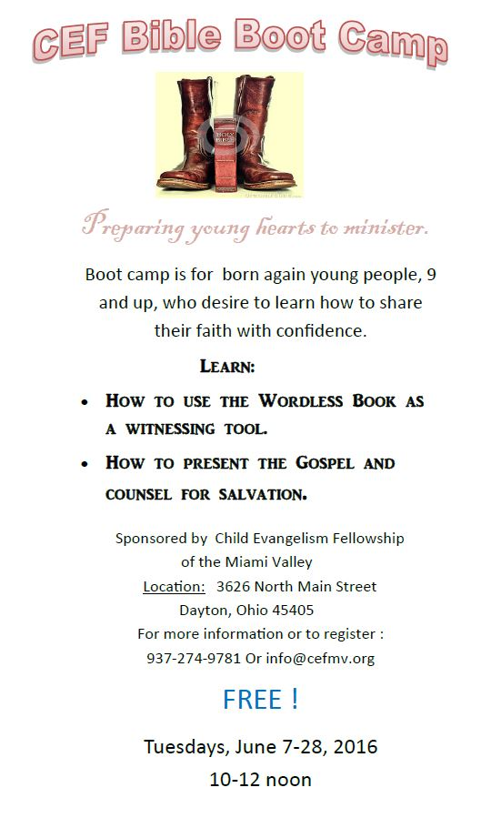 Bible Boot Camp
