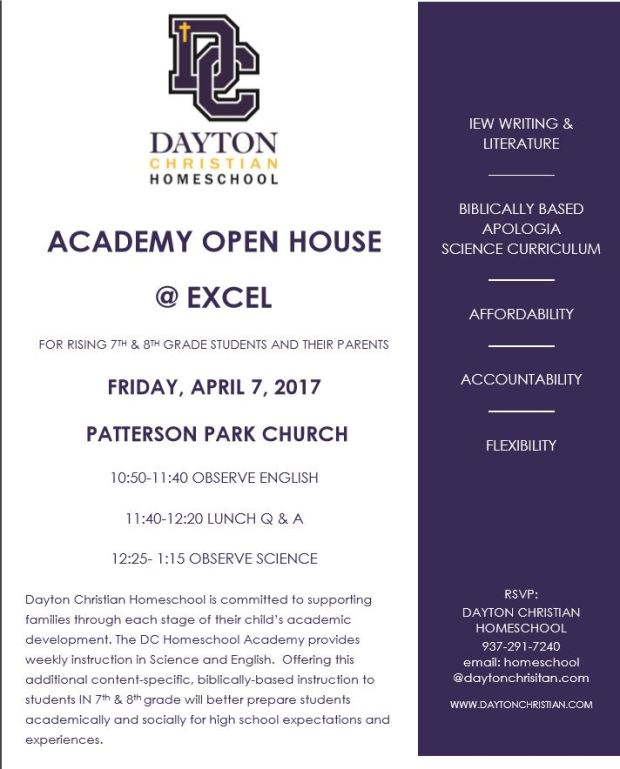 Academy Open house